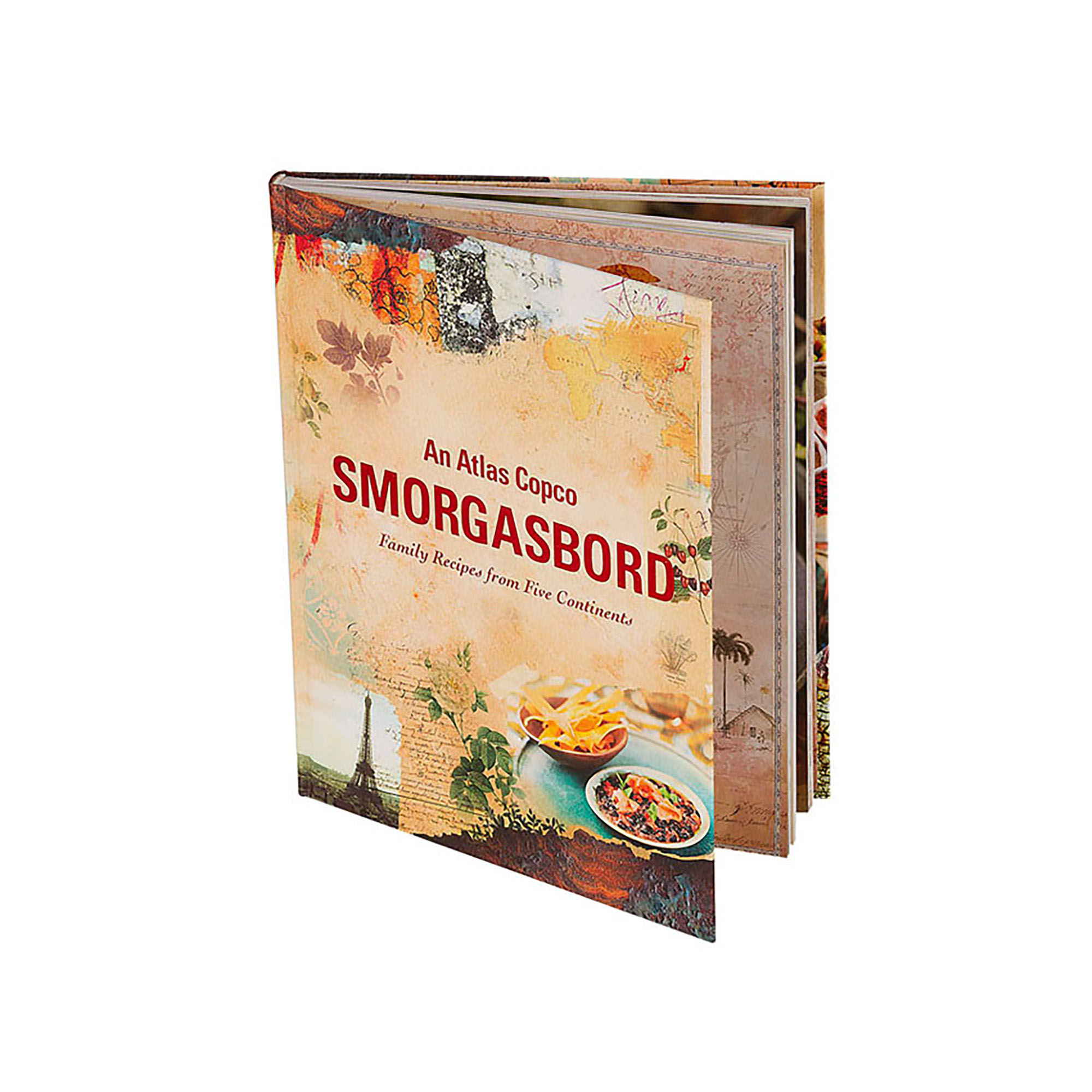 This cookbook includes more than 70 recipes from Atlas Copco families around the world. An Atlas Copco Smorgasbord celebrates the worlds unique cultures and traditions. It´s a cookbook from the heart, each recipe is a family favorite! Open any page, try out a new dish and experience new tastes and flavors from near and afar.