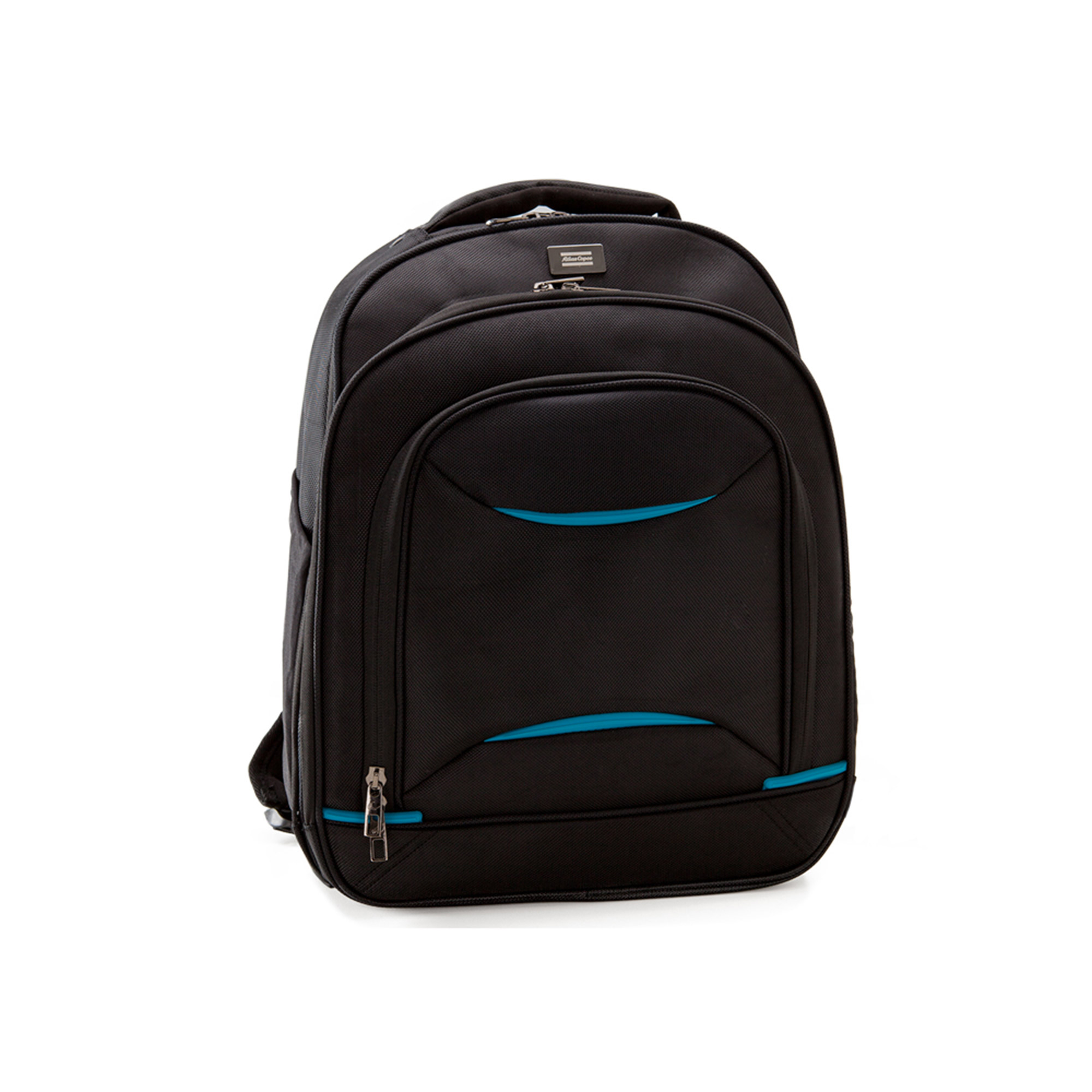 In line with Atlas Copco sustainable manufacturing principles, this trend conscious computer backpack is made to take the rigorous conditions of busy professional people's lives. It has a safe laptop compartment, an organizer section and several other compartments and partitions. Pockets for water bottle and cable accessories are easily accessible. Other features include a security pocket, trolley strap and a magnetic earphone holder. Use this bag when you're commuting, travelling and when you need a high-performance carrying accessory. Watch the video. See for yourself.
