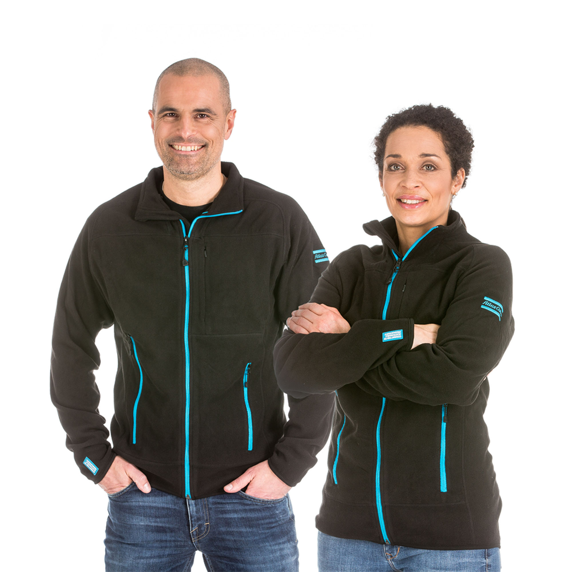 A light and warm fleece jacket with YKK zippers and polyester fabric made of 100% recycled PET bottles.
