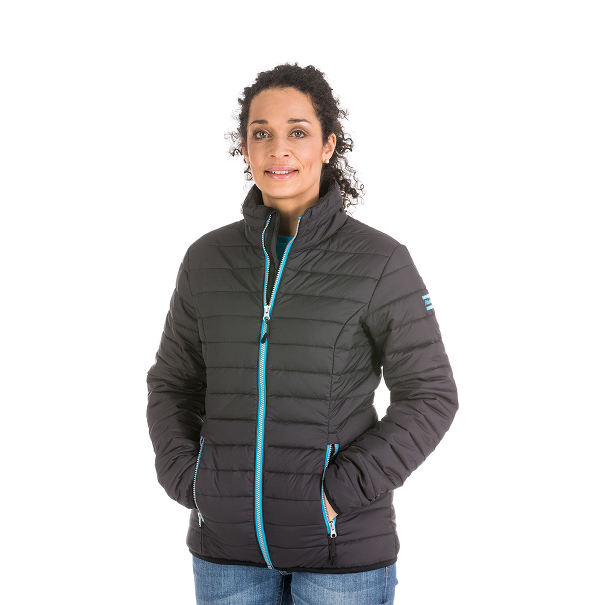 A stylish and comfortable jacket designed to make you look good and feel good. The Stockholm jacket is bluesign® certified and sustainability is at the heart of its design. The outer fabric and lining of the Stockholm jacket are made entirely from recycled PET bottles. The padding is Theremore®. This is an insulating material that is an impressive 90% air – the remaining 10% is recycled polyester. We hope you will appreciate the Stockholm jacket and be proud to wear it.