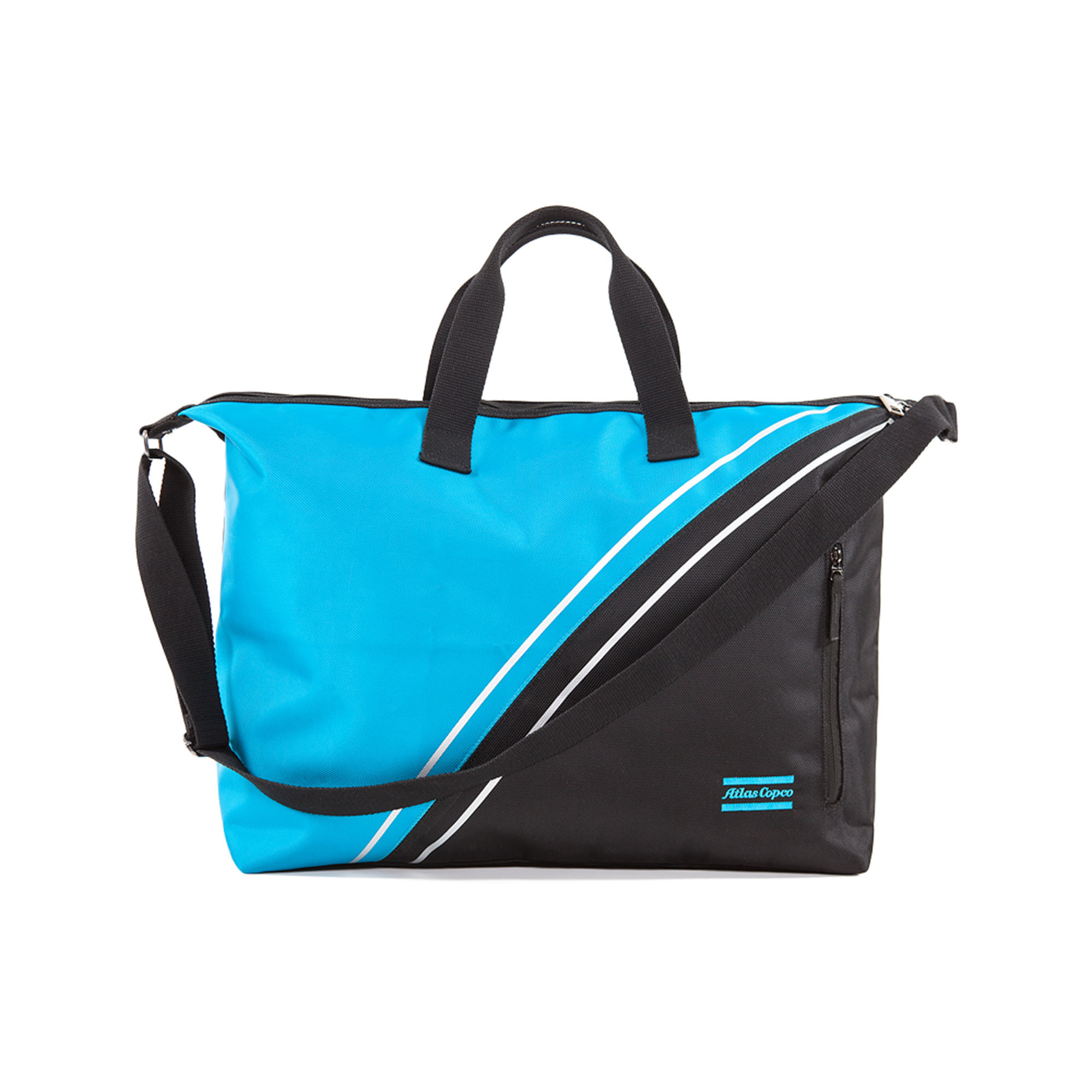 <p>Good-sized bag, perfect for most sports activities. The duffle bag has long been a perfect choice for active people. Classic military look upgraded to a sporty, modern version in Atlas Copco Performance design.</p>