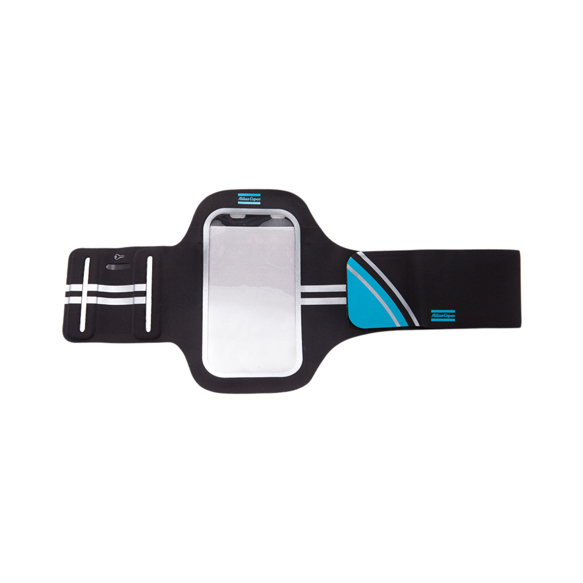 A useful accessory designed to hold your phone securely on your arm when you're out running or working out at the gym. The Performance Armband is adjustable to fit your arm comfortably. It has a watertight opening for a headphone cable and a secure pocket for small items such as keys. Listen to your favorite music when you're working out and if a call or message comes in, you'll know about it. Made to accommodate IPhone 5, 6, Samsung Galaxy S3, S4, for example.