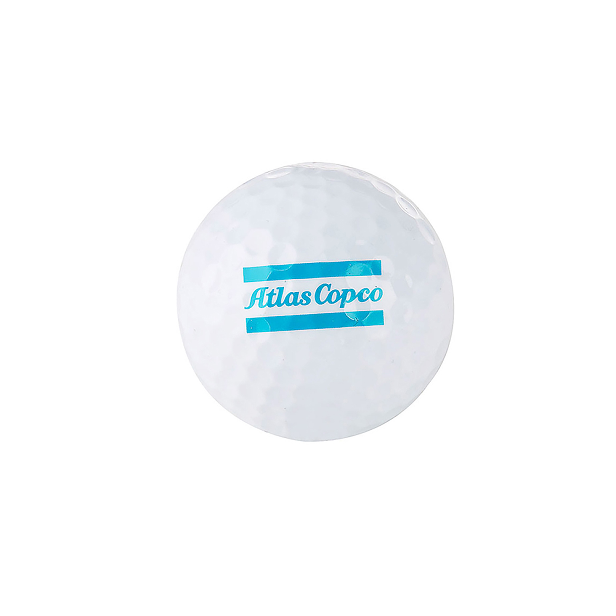 Play with quality golf balls from Titleist with printed Atlas Copco logo. Each box contains 12 balls.