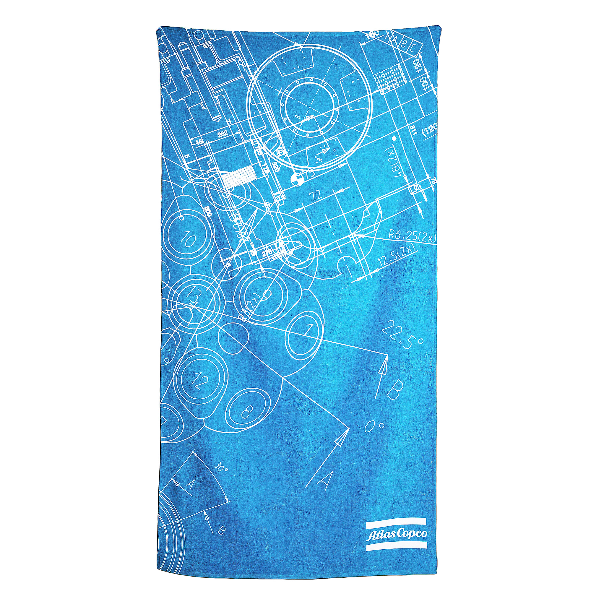Large beach towel that is perfect for lazy days around the pool or at the beach. The microfiber and cotton blend allows the towel to absorb water better and still dry more quickly than a traditional cotton towel. Takes up less space when packing and is the perfect towel to carry along on trips. <br><br>