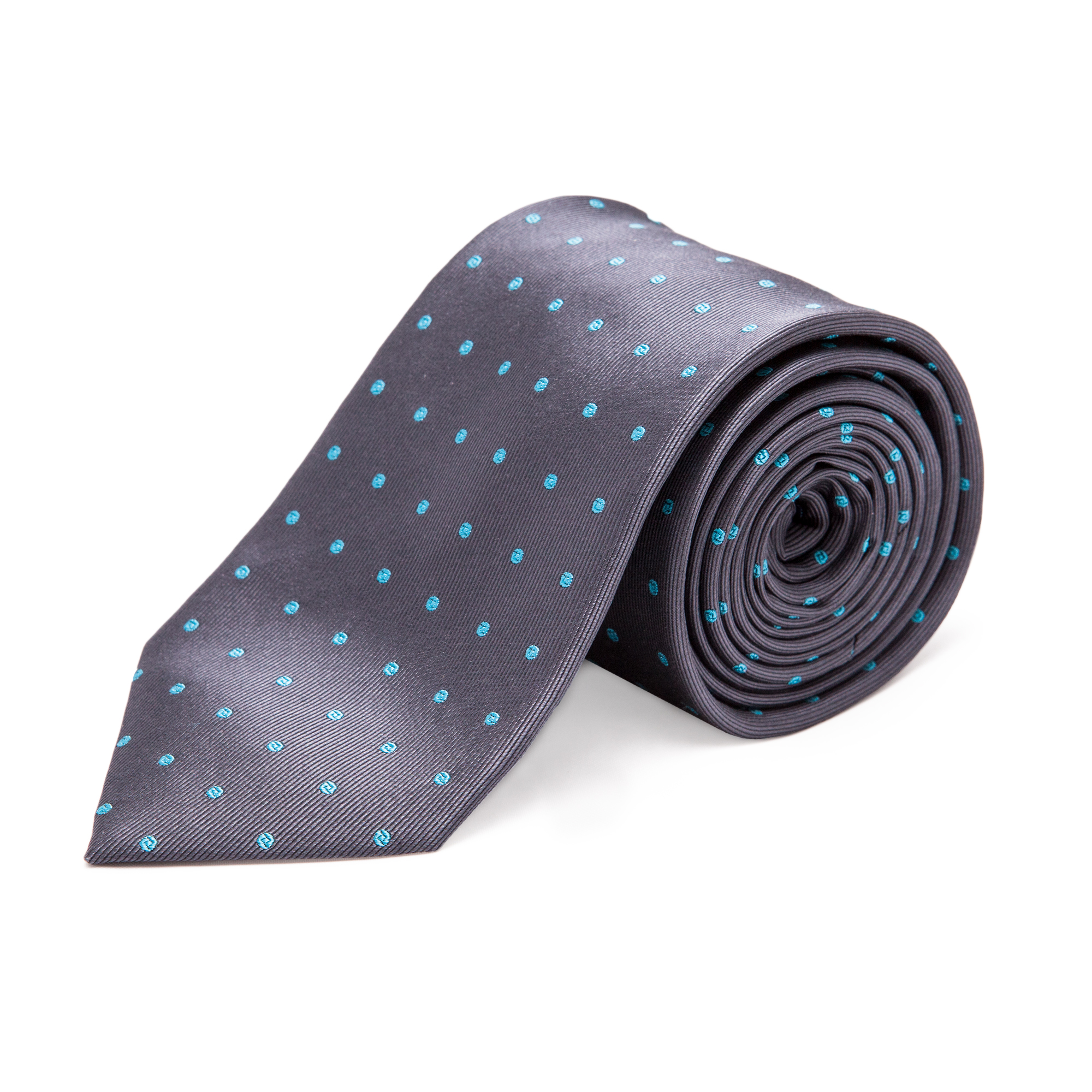 "A stylish woven silk tie. Perfect for fairs and exhibitions when you want to express a ""one company spirit"". Logo as a woven label on the inside"