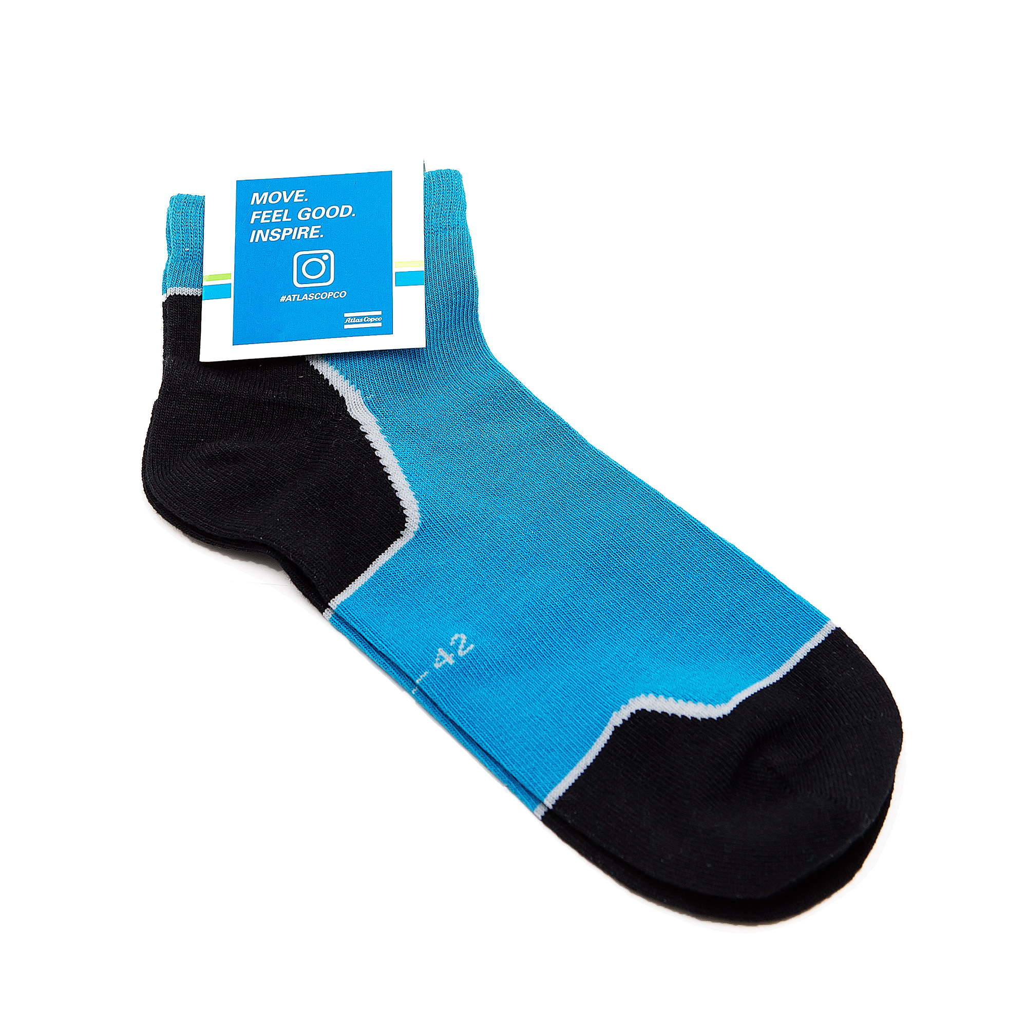 Lightweight athletic socks for best performance. These socks are designed for people who enjoy endurance activities. They lead moisture away (Cool Max) from the foot to prevent blistering and they are made to effectively protect your foot from sores and abrasion.