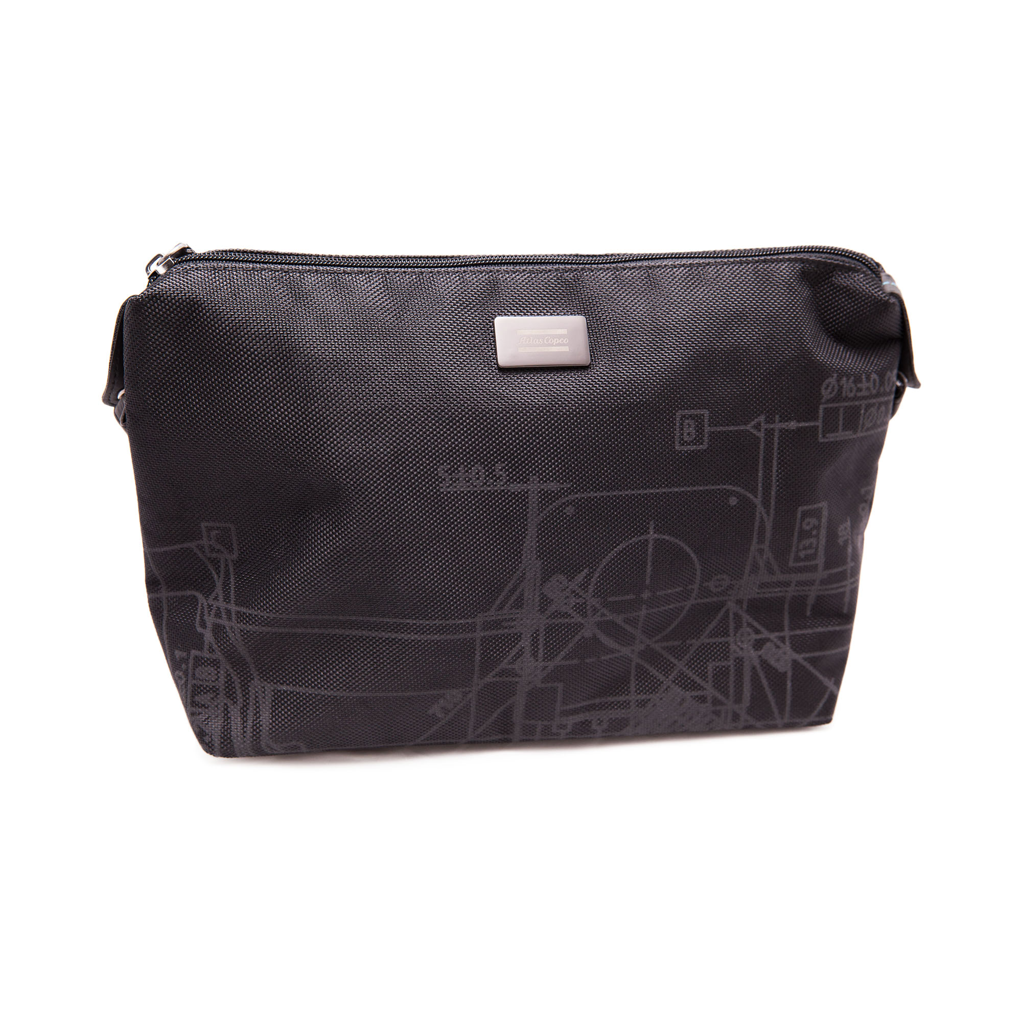 Toiletry bag with several useful carrying compartments. An ideal travel accessory if you're a frequent traveller and like to have dedicated accessories for different activities.