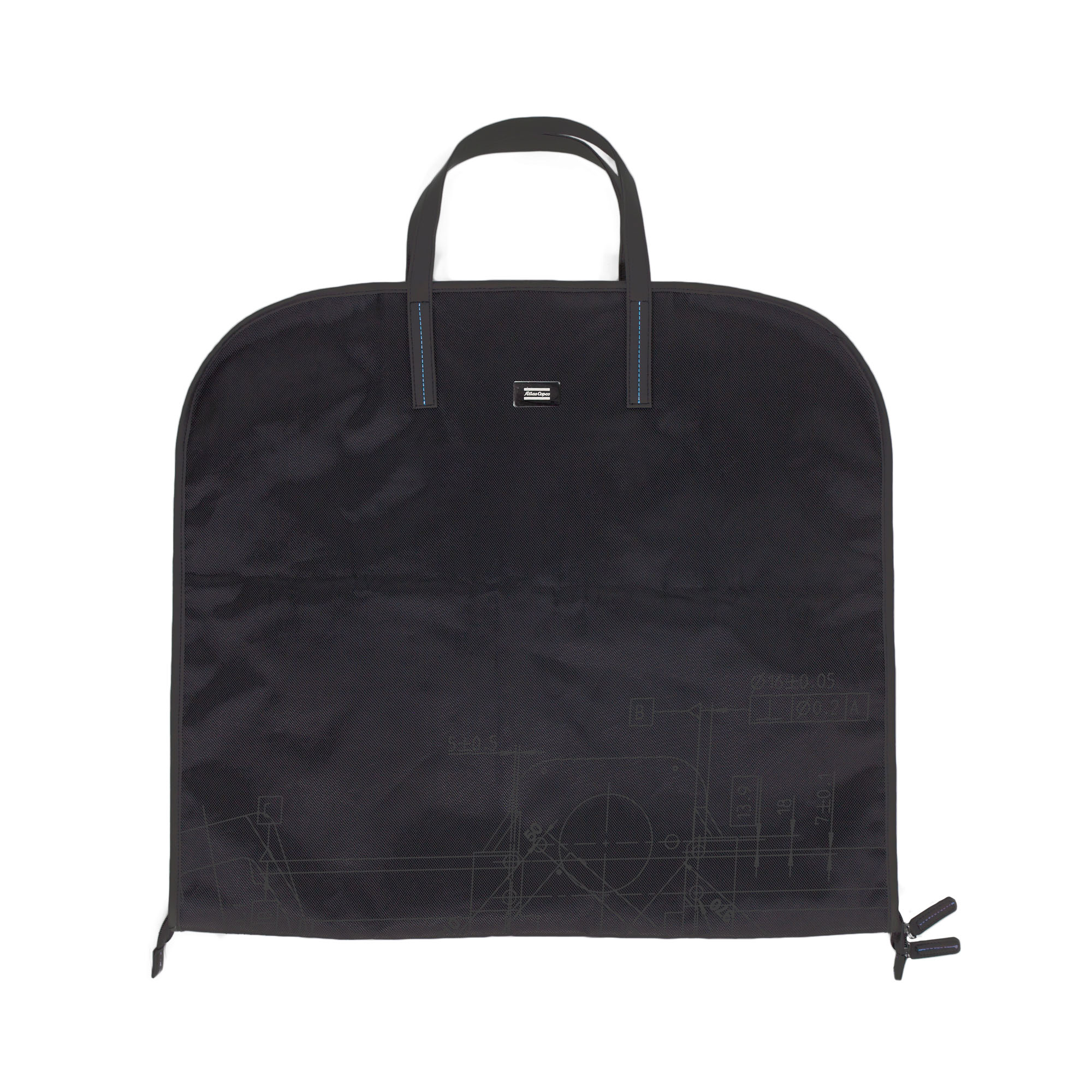 <p>Practical travel wardrobe in a smart and stylish design. Equipped with a snap hook for hanging. It has two roomy pockets on the inside for safe storage of small items. The closet is closed with a zipper.</p>