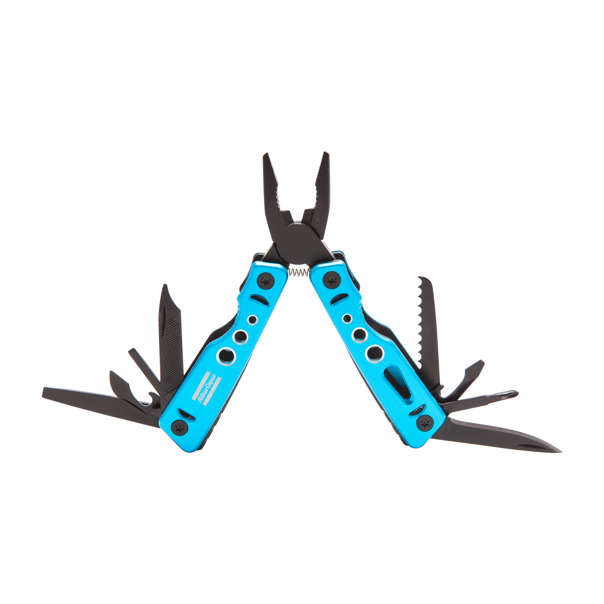 A small and effective multitool. Great to have in minor emergencies.