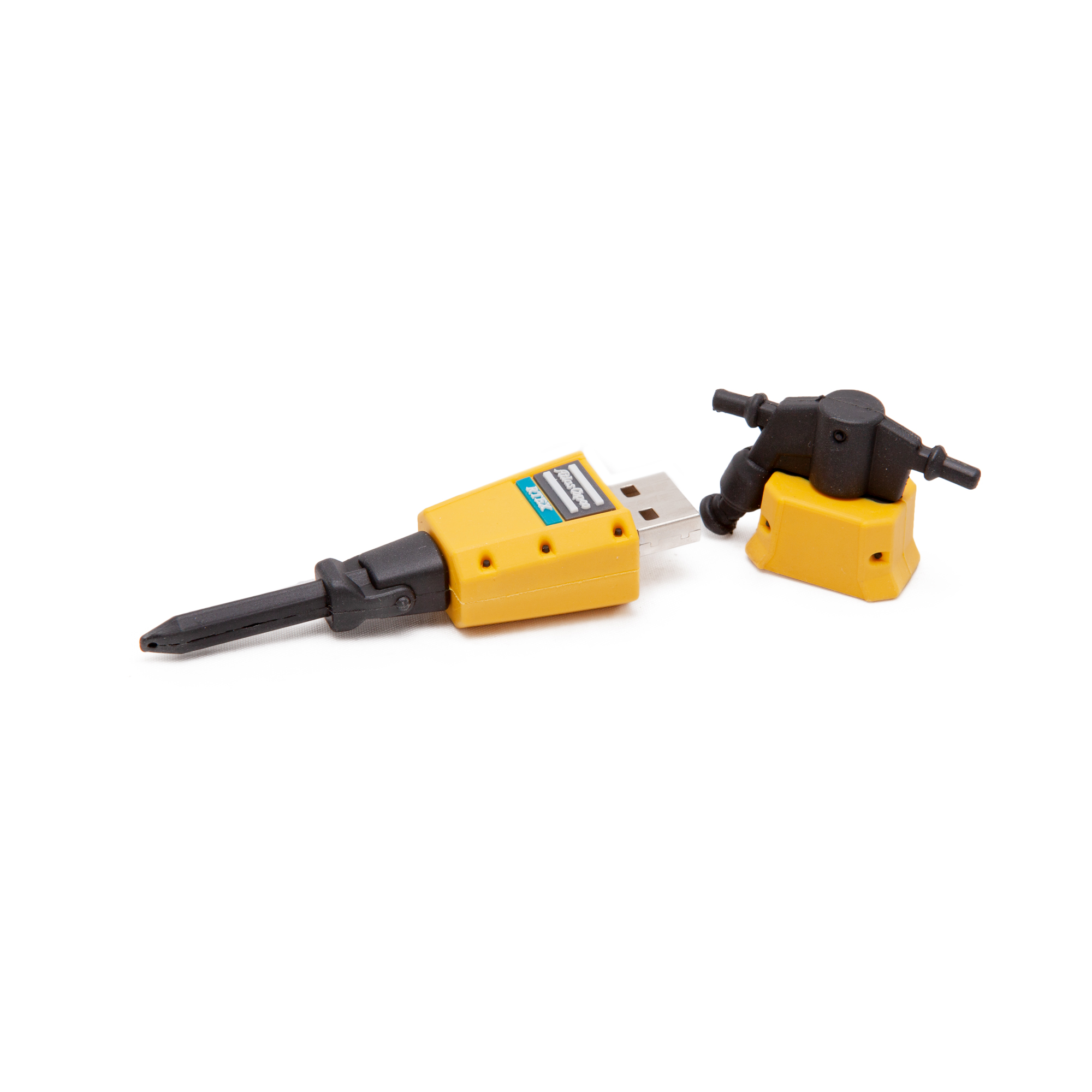 USB in the shape of a RTEX breaker. Capacity 8 GB. 